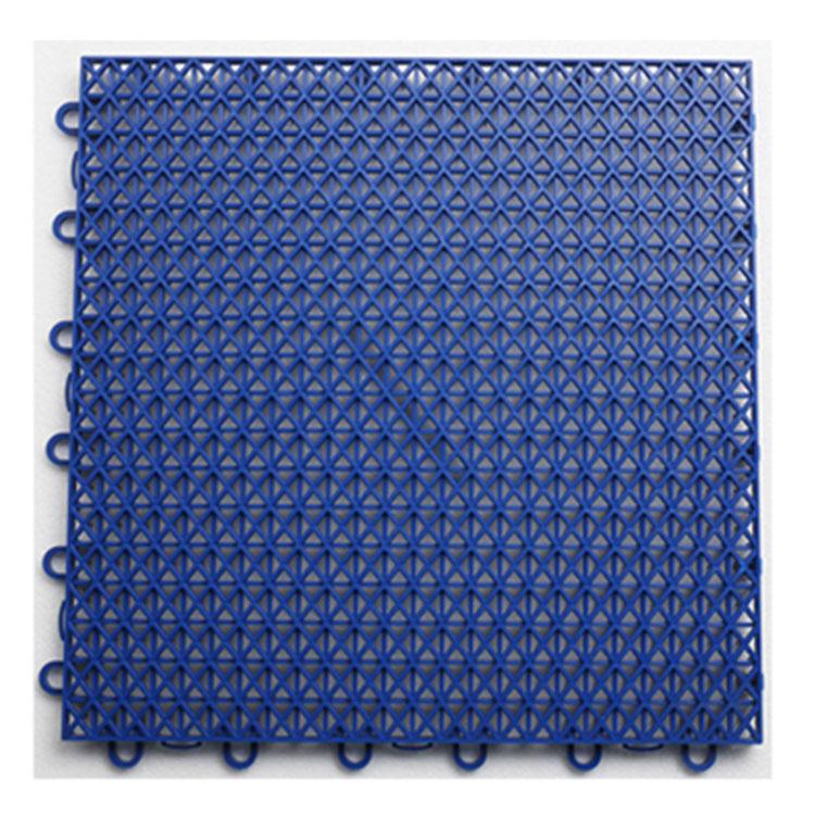 Безопасная антискользящая наружная пластиковая блокирующая съемная спортивная плитка