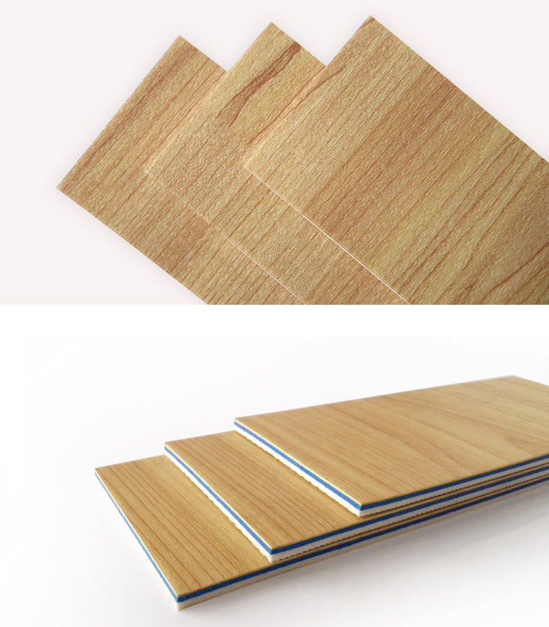 4.5mm Maple  Wood PVC Flooring for Multi sports and basketball court alt=