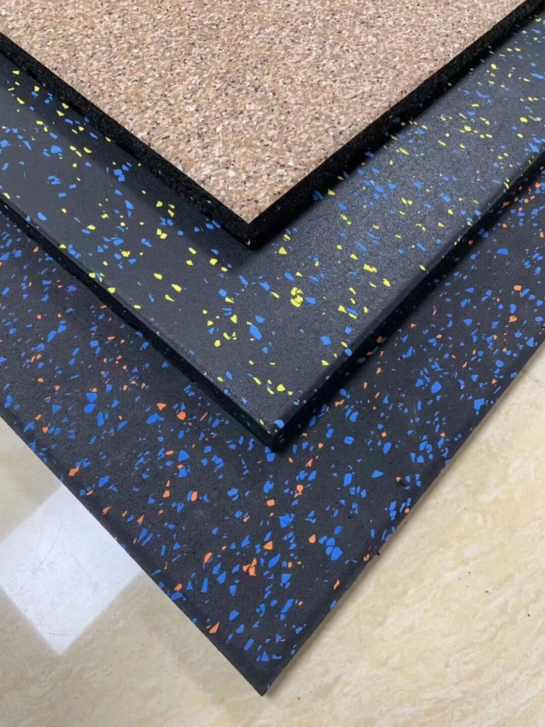 New Pattern of Fitness Rubber Flooring Come online since 10th Nov alt=