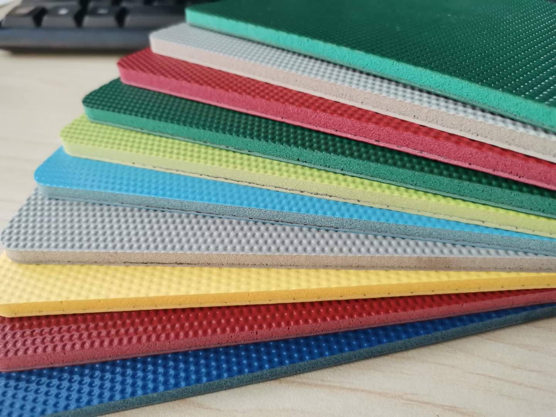 5.0mm Thickness Multi sports Outdoor Playground Antiskidding Outdoor Vinyl Flooring Mat