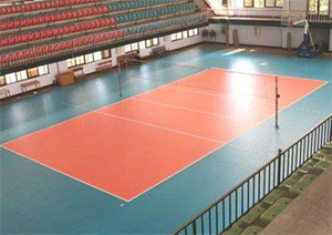 6-8mm high quality indoor volleyball court flooring