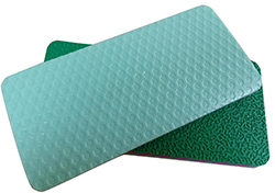 High Quality PVC Sports Plastic Flooring Used Badminton Covering