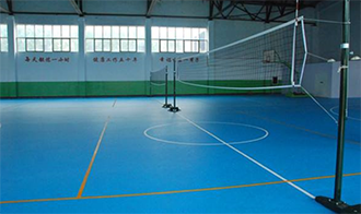 Professional Competition Volleyball Court Flooring