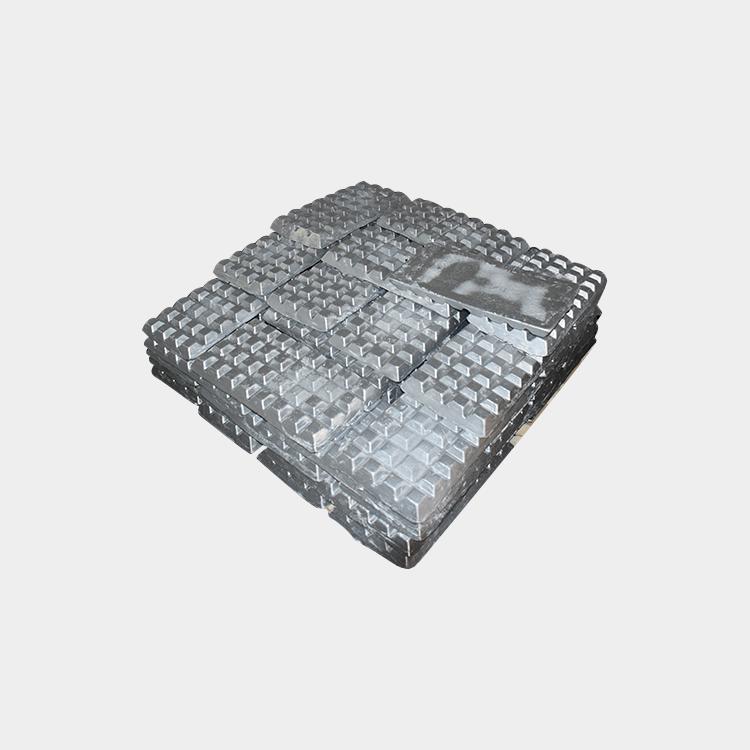 hliník titán Boron vafle