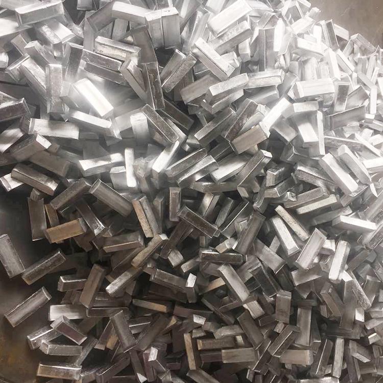 Aluminum Titanium Boron Cut Cast Bar