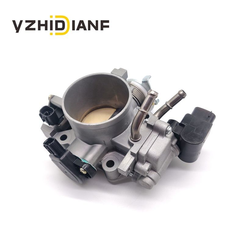What is the main composition of the throttle body?