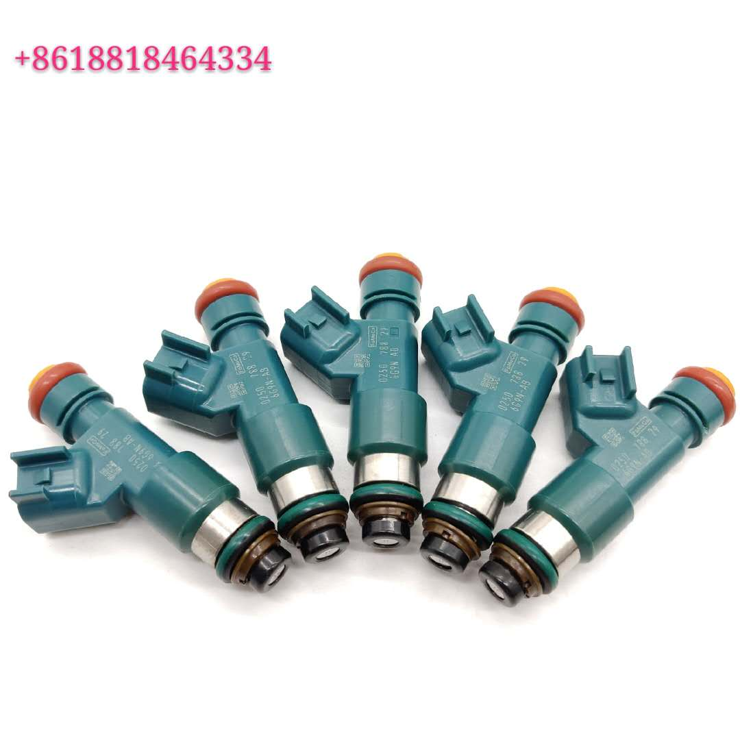 Fuel injector 0250 6G9NAA 6G9N-AA FJ1066 M1378 4G2220 67673 85212259 for Volvo
