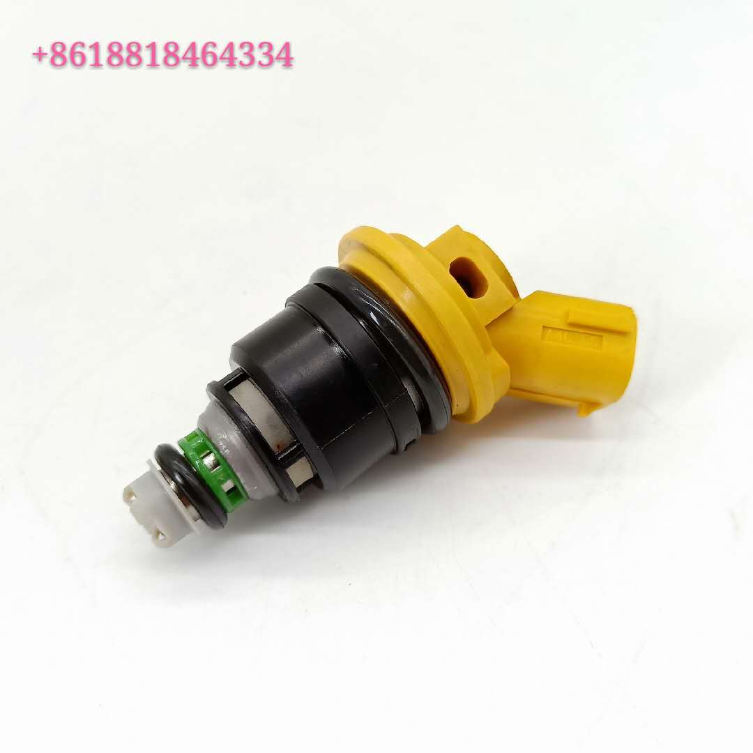 Fuel Injector 16600-AA170 16600AA170 Yellow Side For Subaru