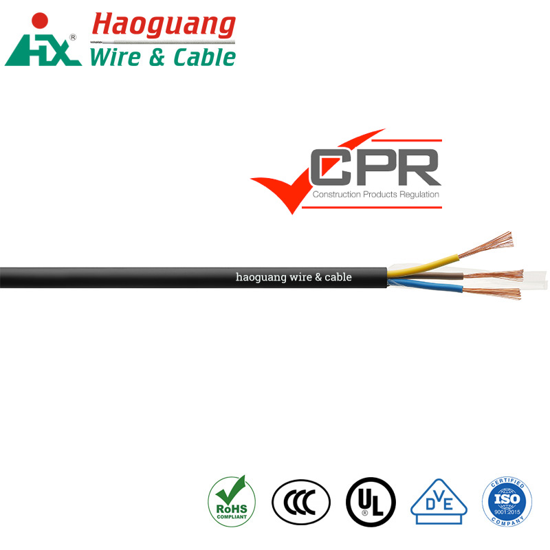 Haoguang Cable :CPR Compliant