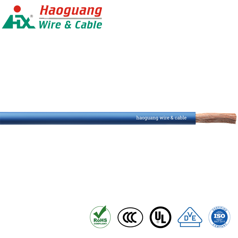 H05V-K H05V-U VDE Disetujui Kabel Inti Tunggal PVC Hook-up