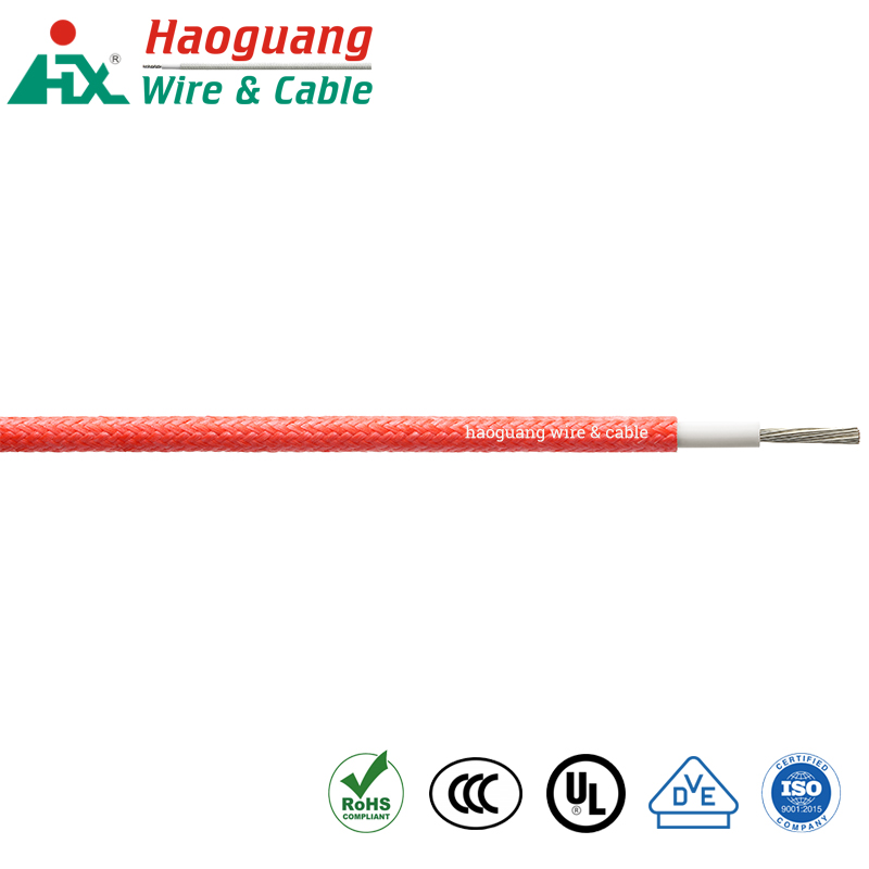 Braided Rubber VDE H05SJ-K High Temperature Hook-up Wire