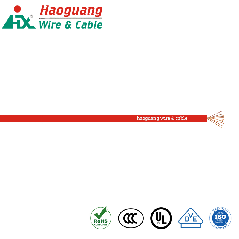 UL AWM 1569 Kawat Hook-up Normal PVC Tembaga