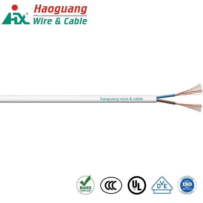 ສາຍໄຟຟ້າ VDE H03VVH2-F PVC Multi Core 300V