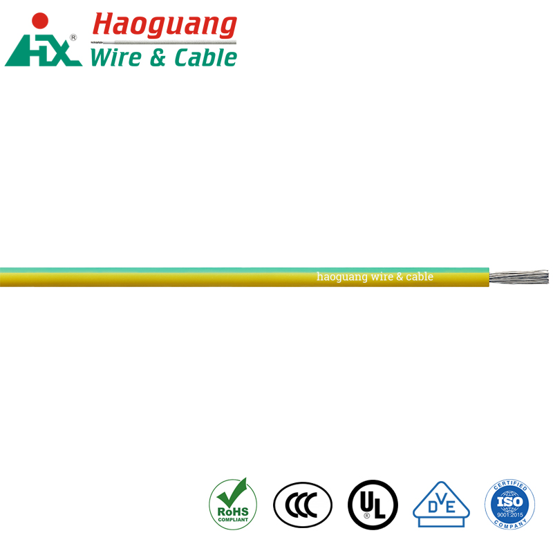 VDE H05S-K High Temperature Silicone Rubber Single Core Cable