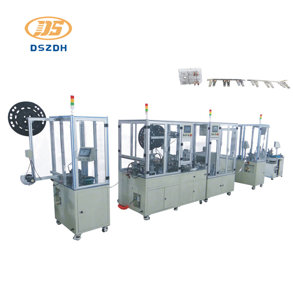 Automatic 54P 53P Dynamic Static Contact Assembly Machine