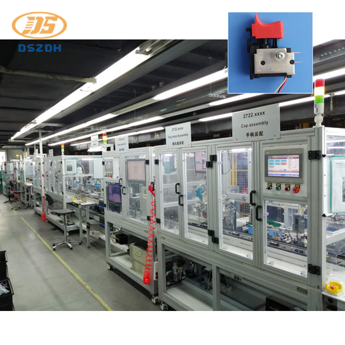 Automatic Assembly Line Of Electric Tool Switch