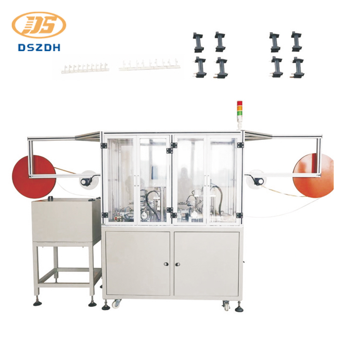 Automatic Relay Lead Pin Insertion Machine