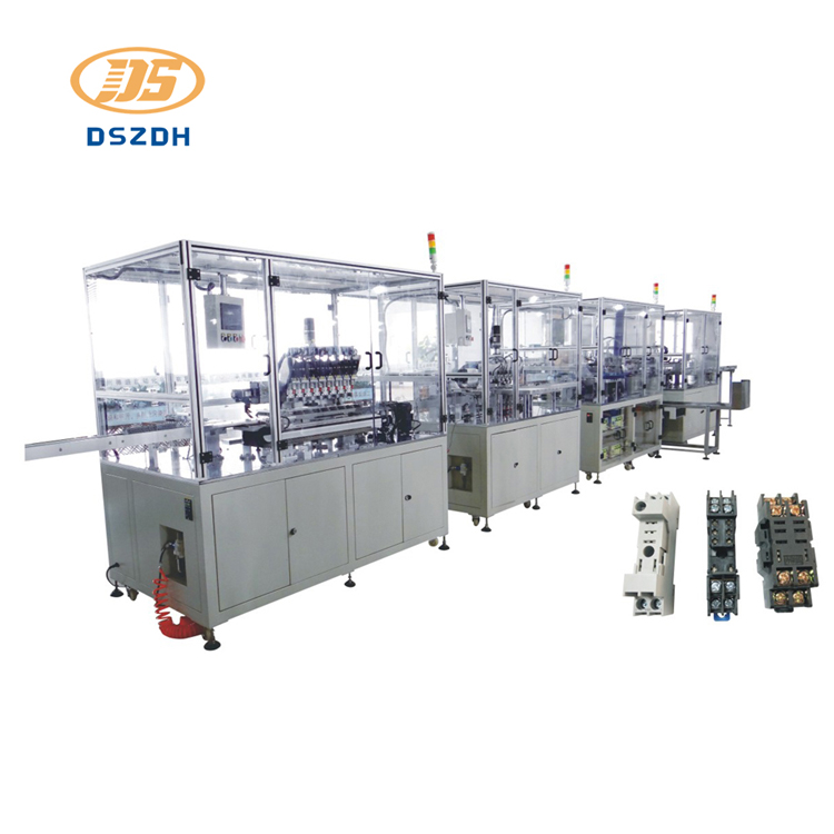 Relay Socket Automatic Assembly Line