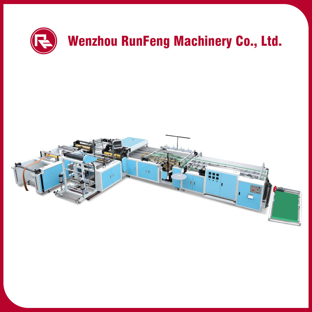 Full automatic Inner Bag Insertion And Bottom Sealing Machine