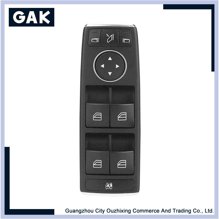 Front Left Power Window Control Switch Fit for Mercedes Benz GL X166 CLass 13-17