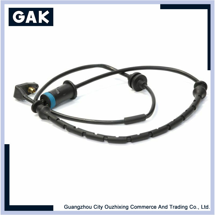 Talking about the principle of brake pad induction wire