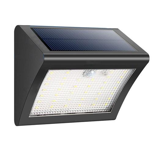 38 LED Solar Motion Sensor Wall Light