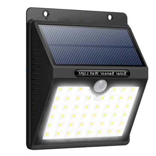 46 LED Solar Motion Sensor Wall Light