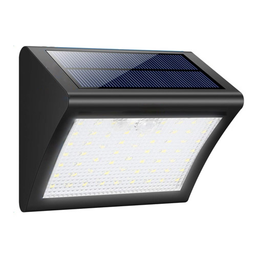 60 LED Solar Motion Sensor Wall Light