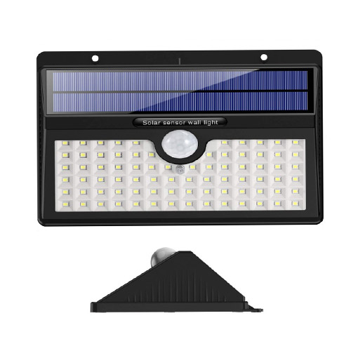78 LED Solar Motion Sensor Wall Light