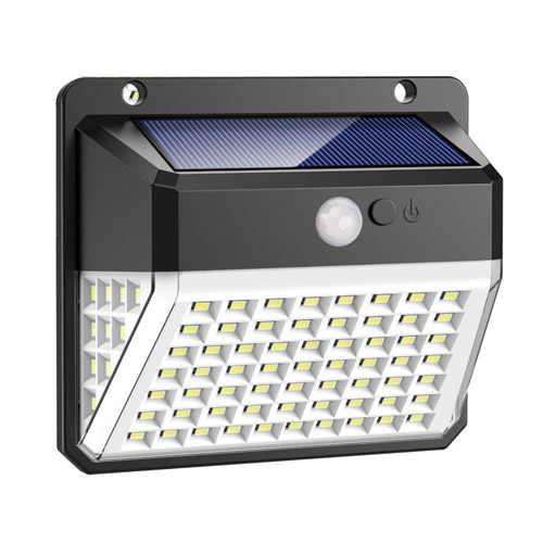 82 LED Solar Motion Sensor Wall Light