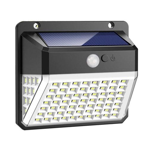 82 LED Solaire Mouvement Capteur mur Lumière