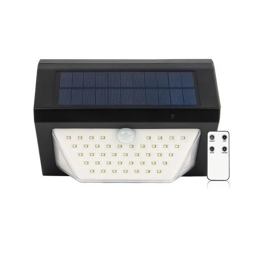Sans fil Éloigné Contrôle Solaire LED Sécurité Alarme Lumière