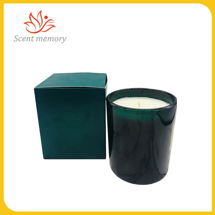 Perfumed Candle In Glass Bottle