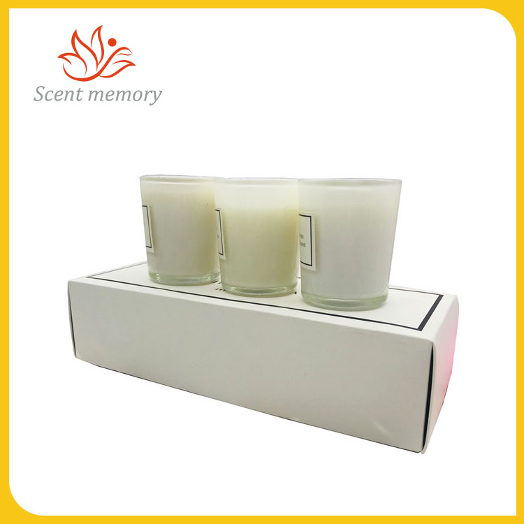 Perfumed Candle Glass Gift Set