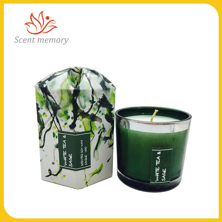Citrus Perfumed Glass Candle