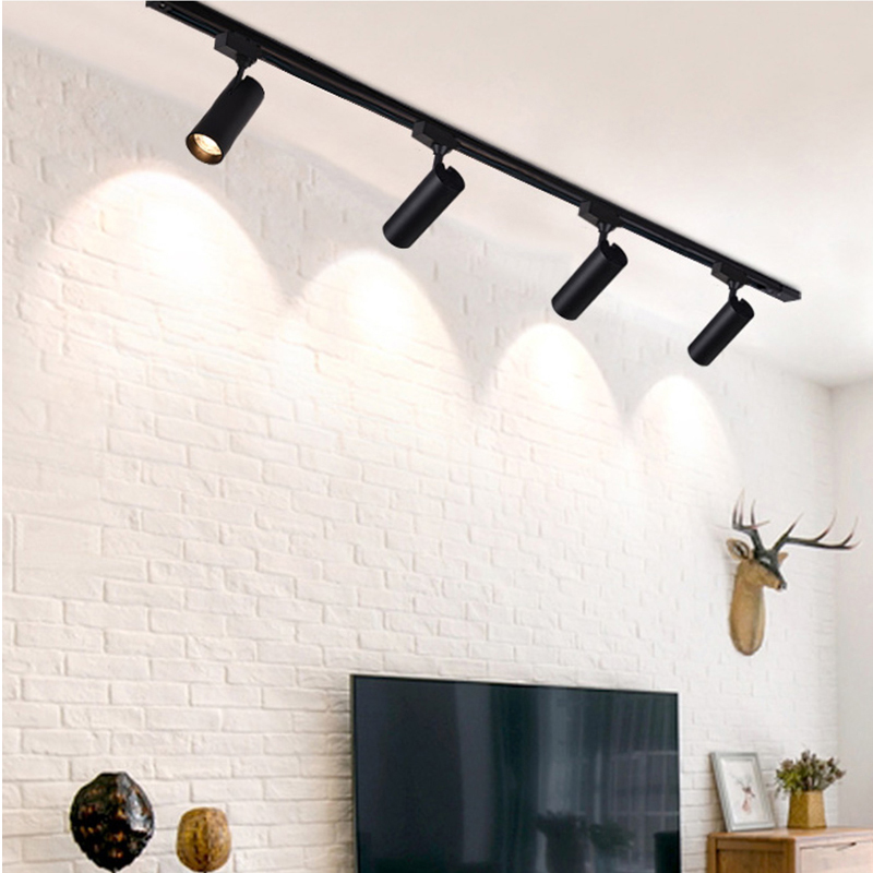 How to lay out LED track light in home lighting?
