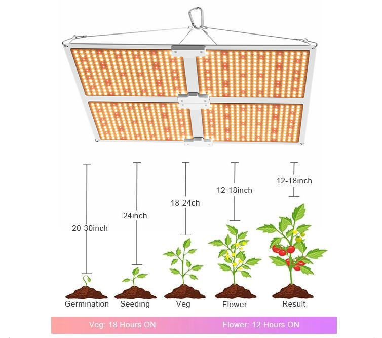 How to choose a commercial led grow light?