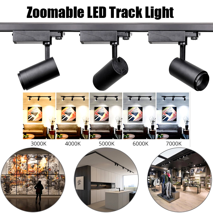 Do you think led track light is the best choice for commercial lighting?