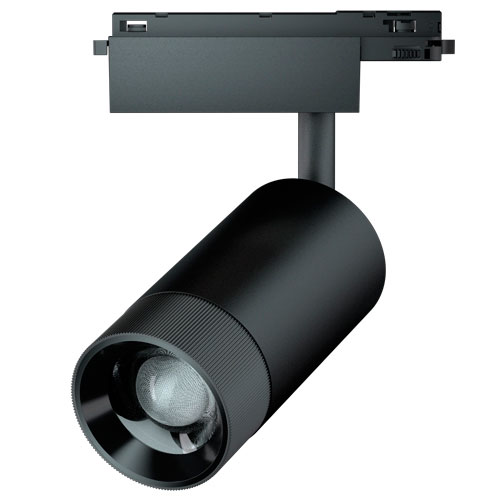 30W Zoomable LED Spot Track Light Musuem Gallery