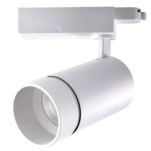 35W Supermarket Hotel Spot Led Track Light Casing