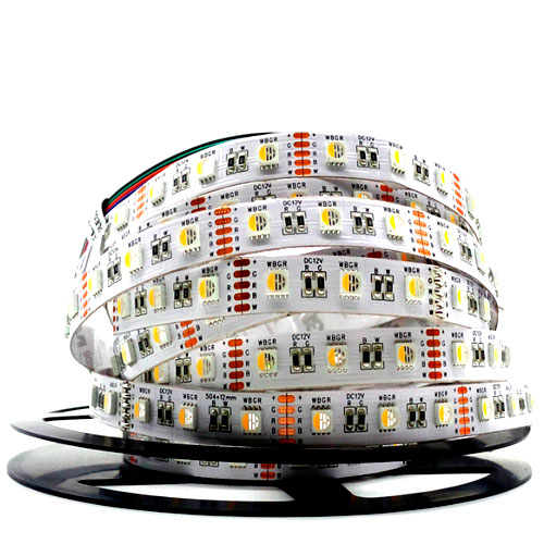 5050 Rgbw Strip Light Led Tape Valgustus 24v 12v