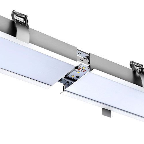 2400mm led linear lighting recessed