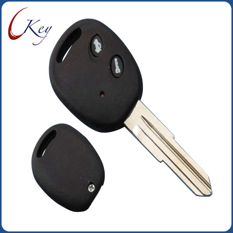 2 Buttons Replacement Remote Car key shell fob case for Chevrolet no logo