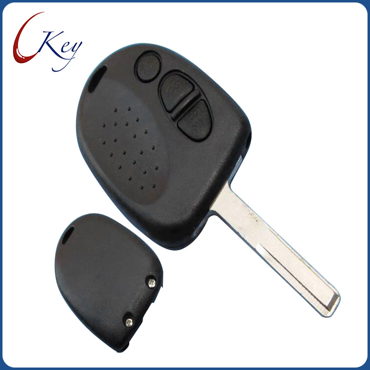 2 Buttons Replacement Remote Car key shell fob case for no logo