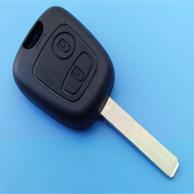 2 Buttons Replacement Remote Car Key Shell Fob Case For Citroen No Logo