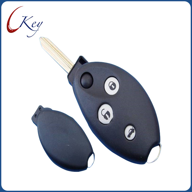 3 Buttons Replacement Car Remote Key Shell Fob Case For Citroen No Logo