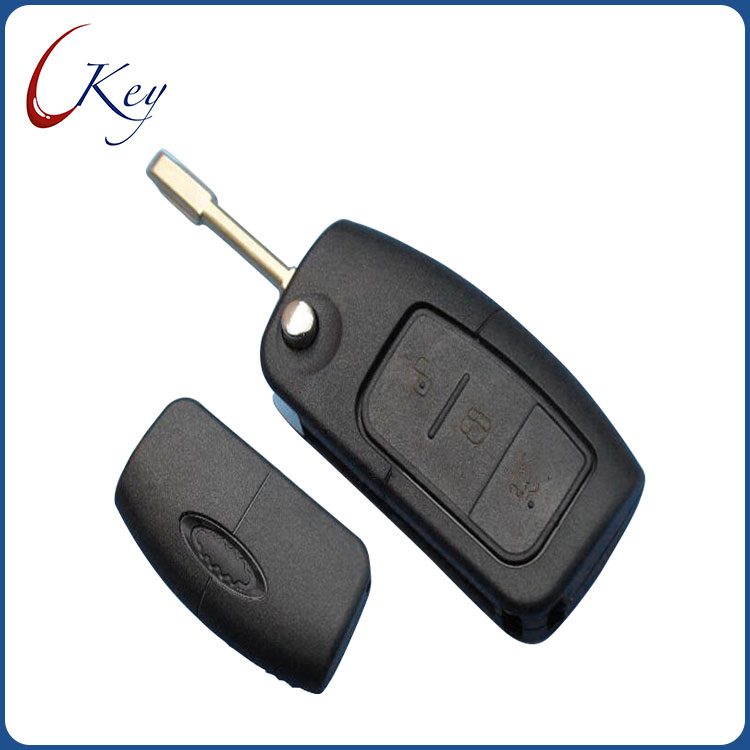 3 Buttons Flip Folding Uncut Car Blank Key Shell Remote Fob Cover for Ford Focus Fiesta C-Max S-Max Ka Mondeo Galaxy