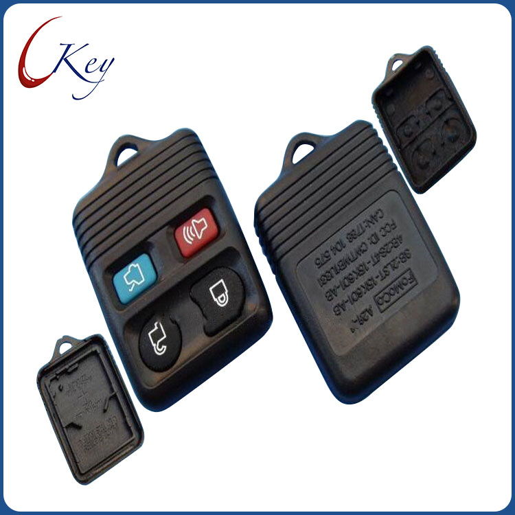 4 Buttons Car Remote Key Shell for Ford Focus Escape Mustang Thunderbird