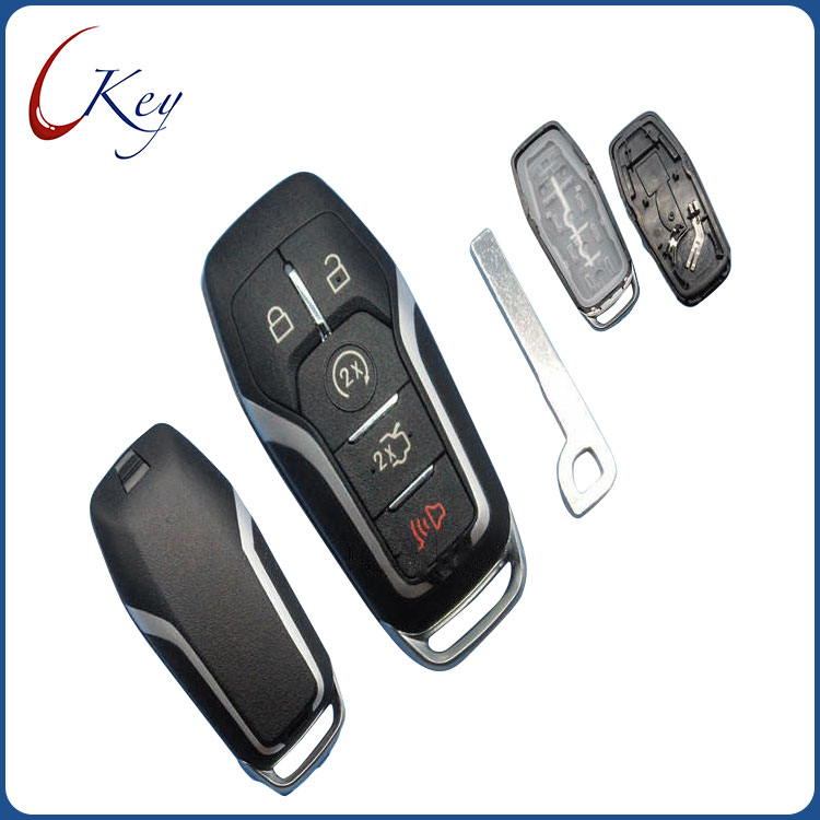 Smart remote key case 5 buttons for Ford Edge Explorer Fusion car Key Shell