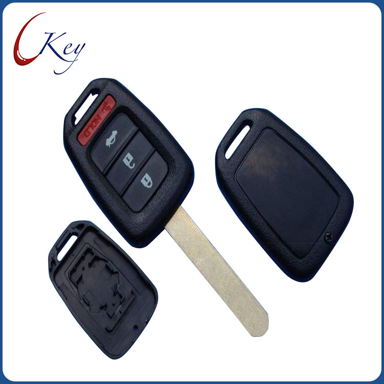 Remote Car Key Shell Case Cover Fob Blank For Honda GREIZ Civic City XRV Vezel